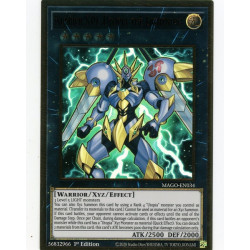 YGO MAGO-EN034 Gold Rare Number S39: Utopia the Lightning