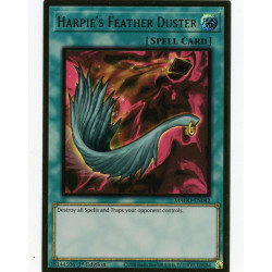 YGO MAGO-EN042 Gold Rare Harpie's Feather Duster