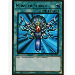 YGO MAGO-EN045 Gold Rare Monster Reborn