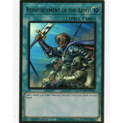 YGO MAGO-EN046 Gold Rare Reinforcement of the Army