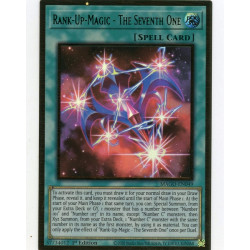 YGO MAGO-EN049 Gold Rare Rank-Up-Magic - The Seventh One