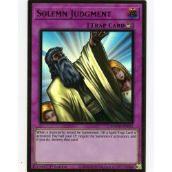YGO MAGO-EN051 Gold Rare Solemn Judgment