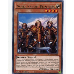 YGO MAGO-EN083 R Noble Knight Brothers