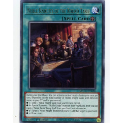 YGO MAGO-EN086 R Noble Knights of the Round Table