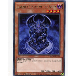 YGO MAGO-EN111 R Barrier Statue of the Abyss