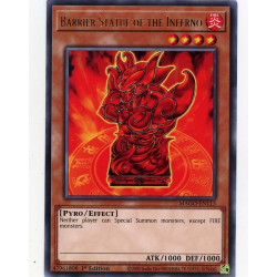 YGO MAGO-EN113 R Barrier Statue of the Inferno