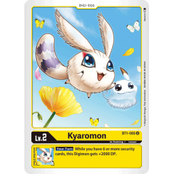 BT1-005 U Kyaromon Digi-Egg