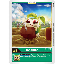 BT1-007 R Tanemon Digi-Egg