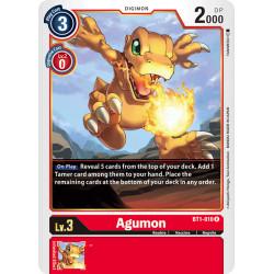 BT1-010 R Agumon Digimon