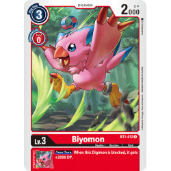 BT1-012 U Biyomon Digimon