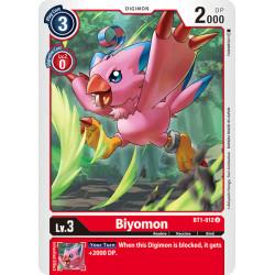 BT1-012 U Biyomon Digimon