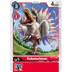 BT1-014 C Kokatorimon Digimon