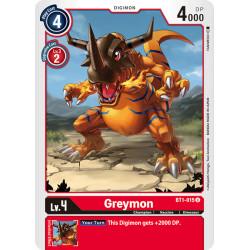 BT1-015 U Greymon Digimon