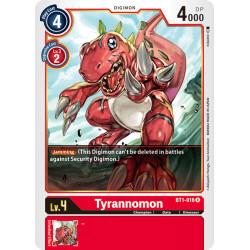 BT1-016 R Tyrannomon Digimon