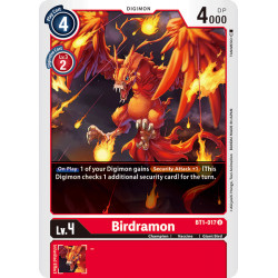 BT1-017 U Birdramon Digimon