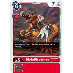 BT1-021 U MetalGreymon Digimon