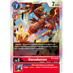 BT1-022 SR Garudamon Digimon