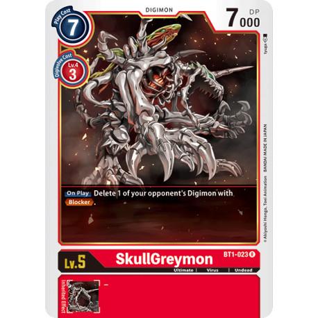 BT1-023 R SkullGreymon Digimon