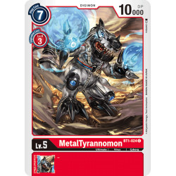 BT1-024 C MetalTyrannomon Digimon