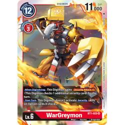 BT1-025 SR WarGreymon Digimon