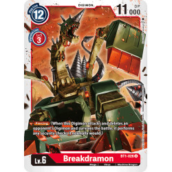 BT1-026 U Breakdramon Digimon