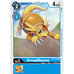 BT1-027 C Armadillomon Digimon