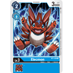 BT1-028 C Elecmon Digimon