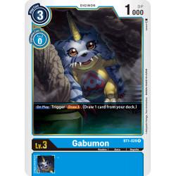 BT1-029 R Gabumon Digimon