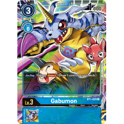 BT1-029 R Gabumon Digimon Alternative Art