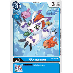 BT1-030 C Gomamon Digimon