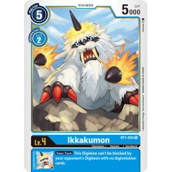 BT1-034 R Ikkakumon Digimon