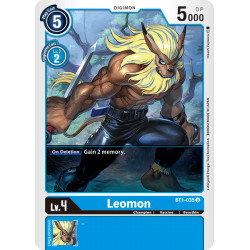 BT1-035 U Leomon Digimon