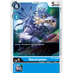 BT1-036 U Garurumon Digimon