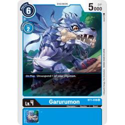 BT1-036 U Garurumon Digimon