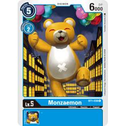 BT1-038 C Monzaemon Digimon