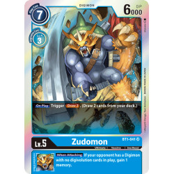 BT1-041 SR Zudomon Digimon