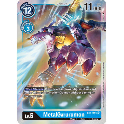 BT1-044 SR MetalGarurumon Digimon