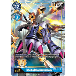 BT1-044 SR MetalGarurumon Digimon Alternative Art