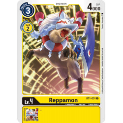 BT1-051 C Reppamon Digimon