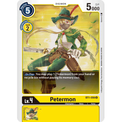 BT1-056 U Petermon Digimon