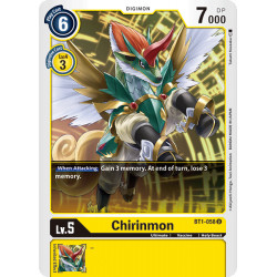 BT1-058 U Chirinmon Digimon