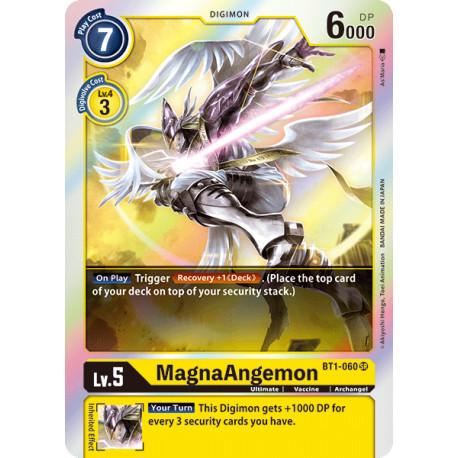 BT1-060 SR MagnaAngemon Digimon