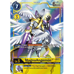 BT1-060 SR MagnaAngemon Digimon Alternative Art