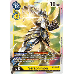 BT1-063 SR Seraphimon Digimon