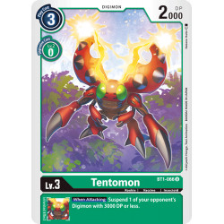 BT1-066 U Tentomon Digimon