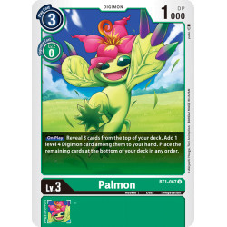 BT1-067 U Palmon Digimon