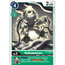 BT1-068 C Kokuwamon Digimon