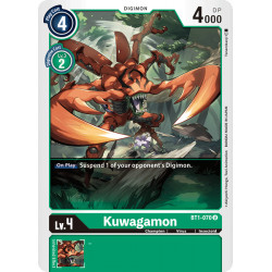 BT1-070 U Kuwagamon Digimon