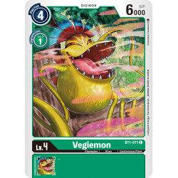BT1-071 C Vegiemon Digimon