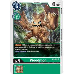 BT1-072 U Woodmon Digimon